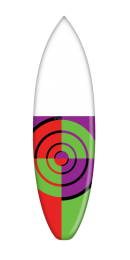 Bullseye - Green Purple Variant